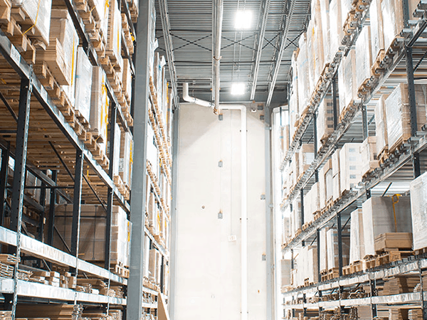 warehouse / distribution center LED Retrofit Case Study