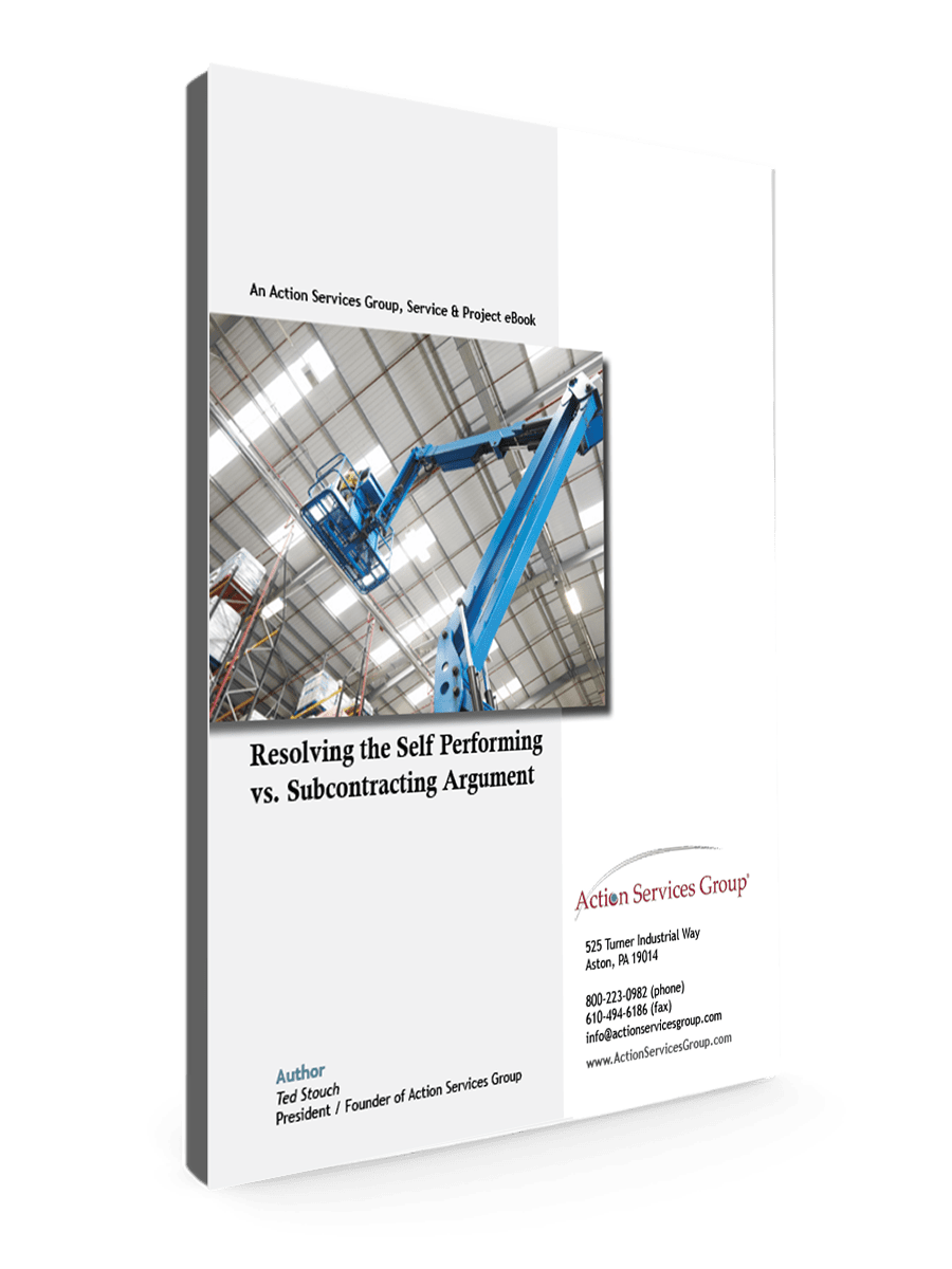 Resolving the Self preforming vs subcontracting argument_eBook Cover