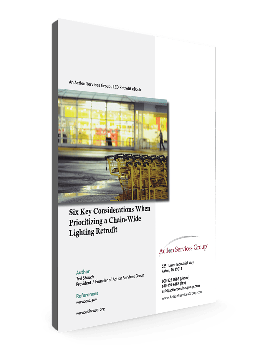 Six Key Considerations When Prioritizing a Chain-Wide Lighting Retrofit_eBook Cover