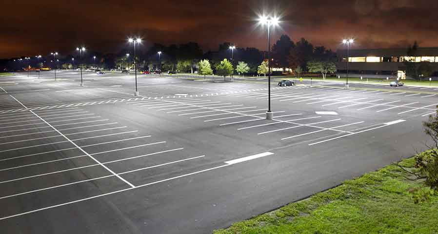 4 Benefits of LED Parking Lot Lighting - Blog Image