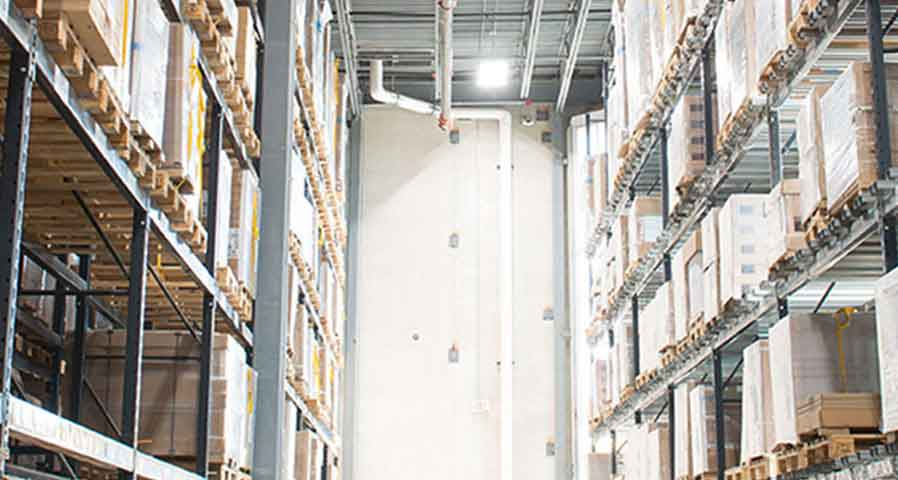 Industrial and Commercial Warehouse Lighting Solutions LED Retrofit Case Study - Blog Image