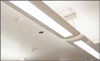 Fluorescent Lighting Application - Education Center - Action Services Group