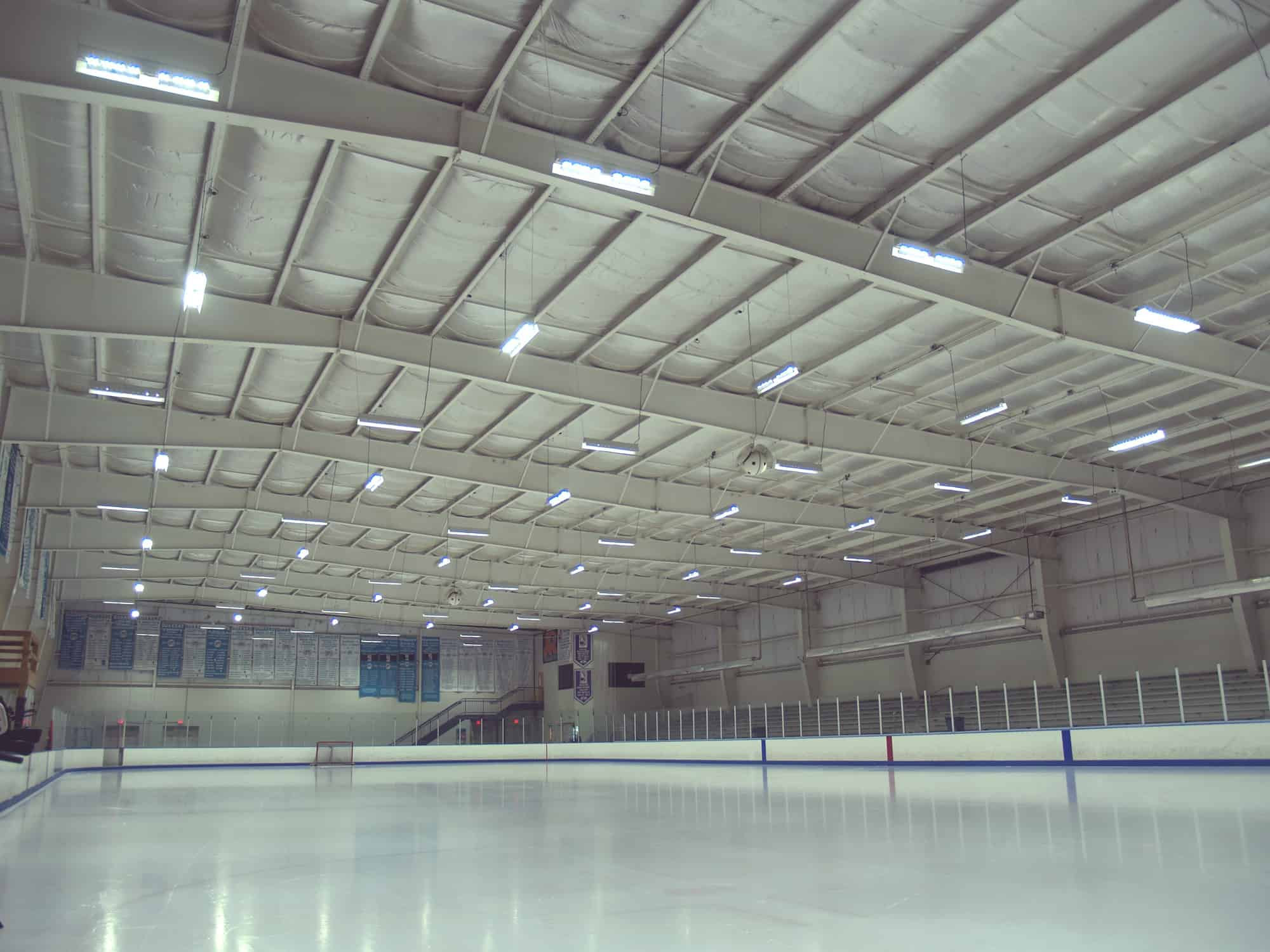 Ice Skating Rink - Lighting Case study