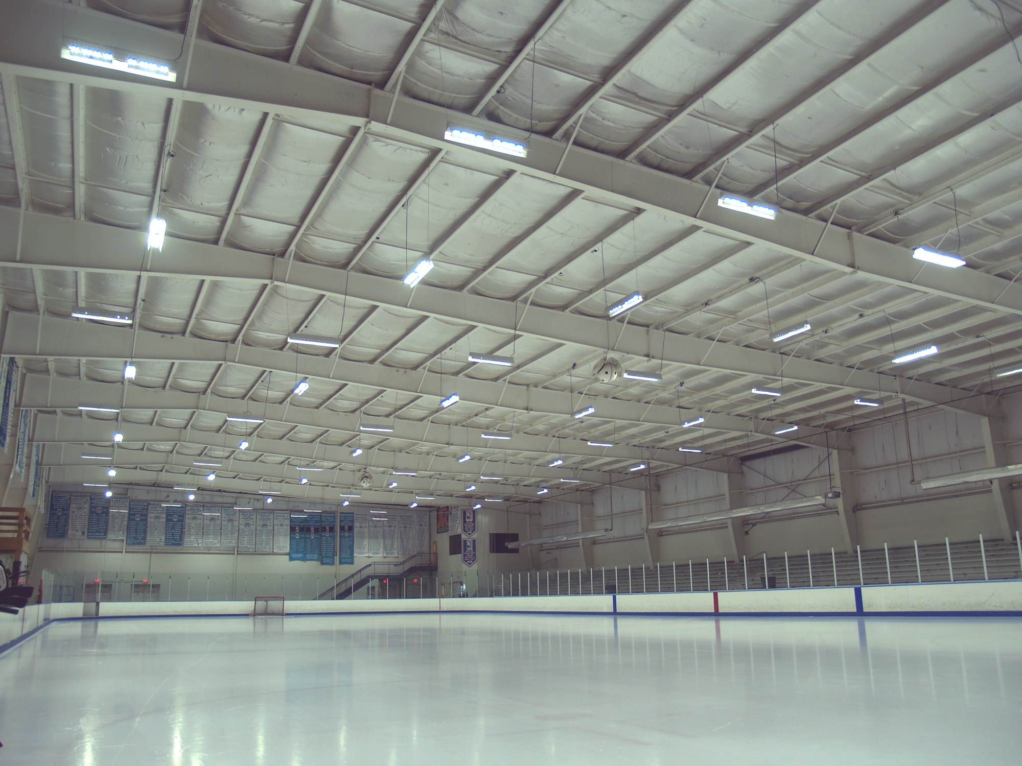 Ice Skating Complex Lighting Solution - Case Study