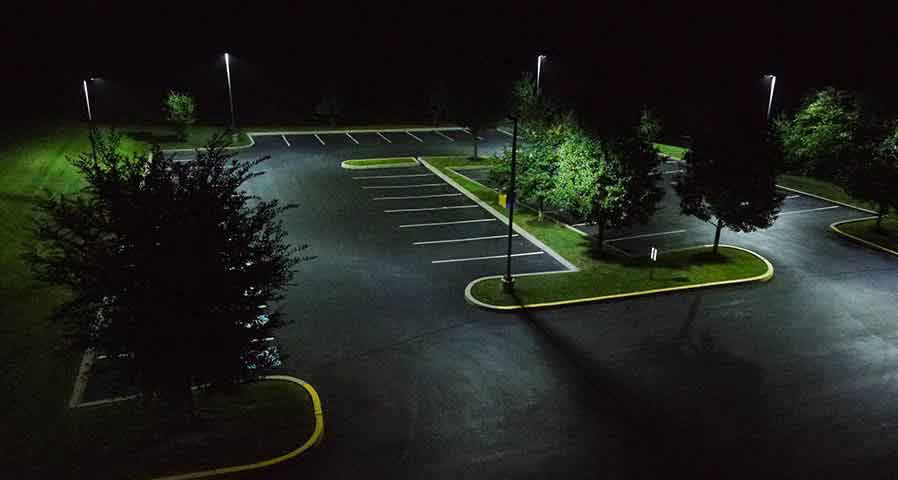 LED Parking Lot Lights for Outdoor Lighting - Blog Image