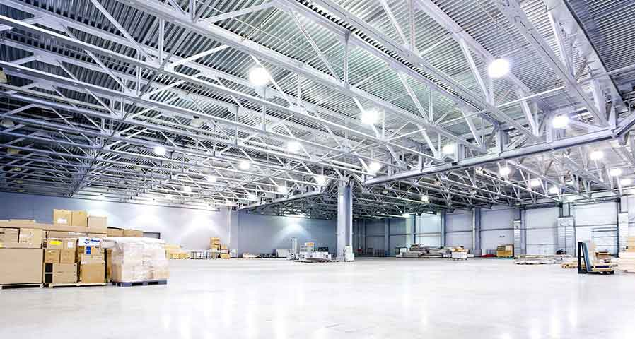LED Warehouse Lighting - Blog Image