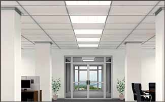 Troffer Lighting Application - Education Center - Action Services Group