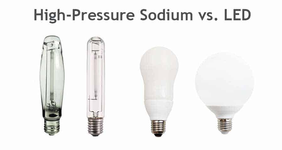 High-Pressure Sodium Lights vs LED