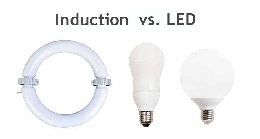Induction Lighting vs LED