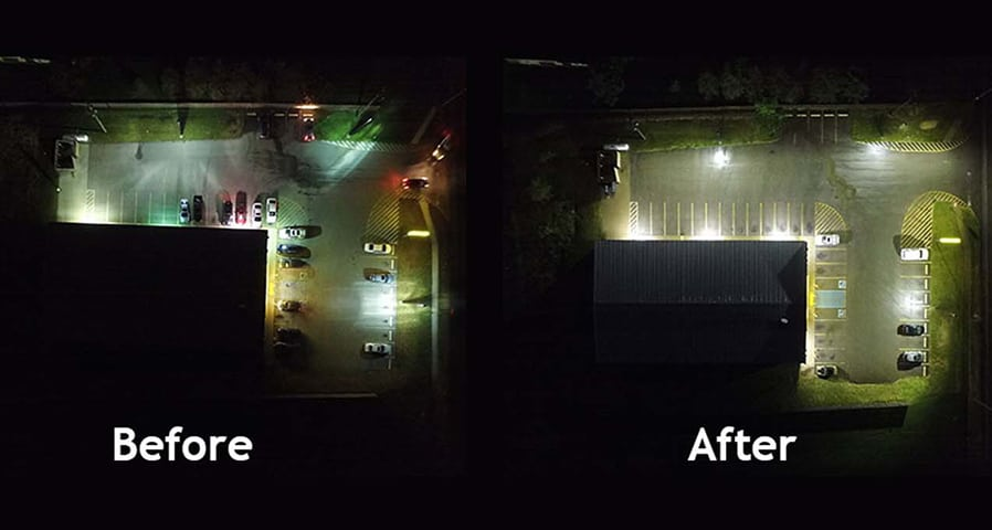 A Guide to Outdoor Commercial LED Lighting