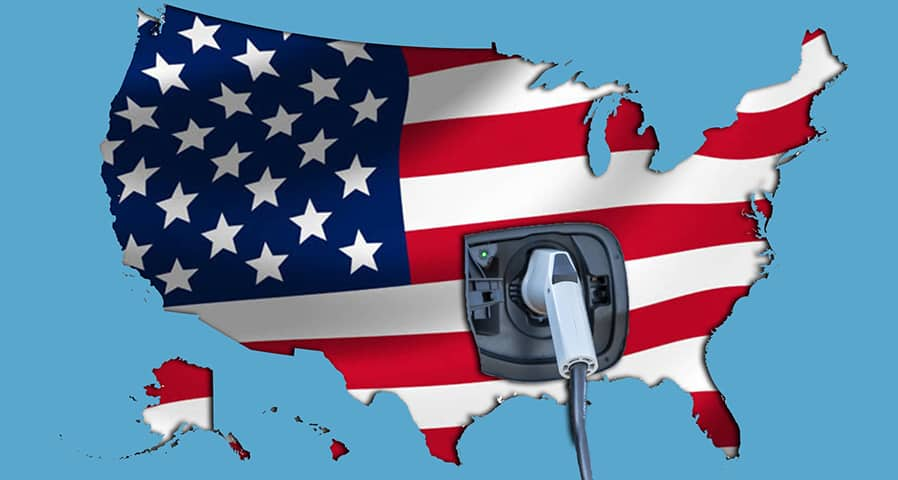 The Best US states for EV charging