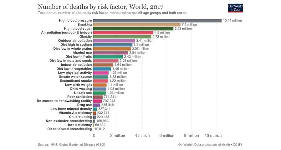 Indoor Air Pollution Leading Risk Factor for Premature Deaths